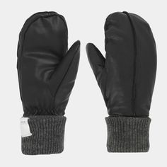 Johaug Now Leather Mitten, skinnvotter dame - Svart - Votter | XXL Mittens, Gloves, Leather, Style, Fashion, Swag, Moda, Stylus, Fasion