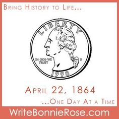 """In God I Trust On April 22, 1864, coins in the United States began to be stamped with """"In God We Trust."""" Fits American history timeline.* Becky's family was going through a tough time… In God We Trust, Trust Me, Short Stories For Kids, Handwriting Worksheets, April 22, S Stories, Writing Tips, Parents, Coins"""