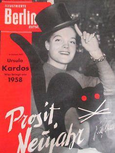 "Romy Schneider - ""ibz"" 1/1958 (D) - Ingrid Bergmann - Roberto Rossellini"