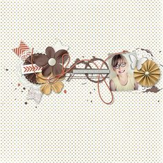 Challenge Scraplift de Digitalement Scrap Lift de KirstieGai! Kit Coffee Break de Fanette Design