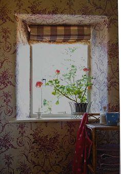 Bright spot on the windowsill
