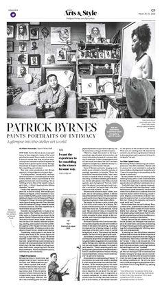 Patrick Byrnes Paints Portraits of Intimacy|Epoch Times #Arts #newspaper #editorialdesign