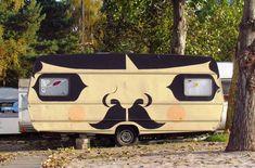 Mustache Camper