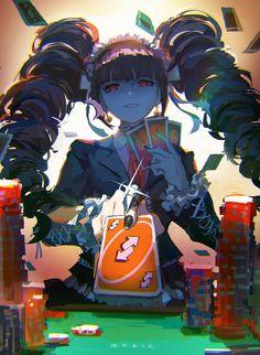 For fans of the murder-mystery visual novel series Danganronpa. Animes Yandere, Fanarts Anime, Anime Manga, Anime Art, Danganronpa Funny, Danganronpa Characters, Danganronpa Monokuma, Style Anime, Anime English