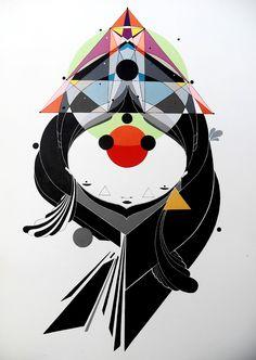 Conhece o trabalho do ilustrador paulistano Rodrigo Level? Seu traço de personalidade aborda temas como pecado, erro, vaidade e luxúria. Viaja aí!   https://www.facebook.com/pages/Rodrigo-Level/218686584820537