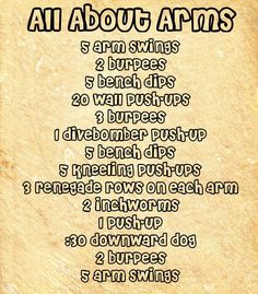 Twitter / BeFitMotivation: All about arms workout ...