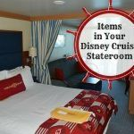 Items in Your Disney Cruise Stateroom