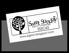 SSSC43   by Sweet Sunday Sketch Challenge