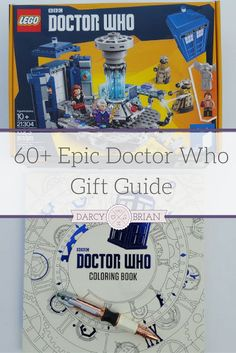 Have a Doctor Who fan on your shopping list? Check out this epic Doctor Who gift guide that will help you pick a present for your Whovian. Many of these geeky gifts are fun and functional such as a sonic screwdriver pen. You'll also find coffee mugs, throw blankets, apparel, books, board games, toys, and more featuring the Doctors, TARDIS, Weeping Angels, and Daleks! via /darcyz/