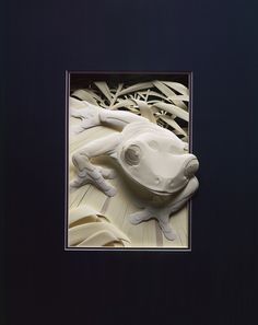Calvin Nicholls - animais feitos de papel (Plain paper art)