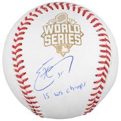 Eric Hosmer Kansas City Royals Fanatics Authentic 2015 MLB World Series Champions Autographed World Series Baseball with 15 WS Champs Inscription - $229.99