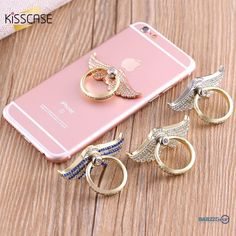 KISSCASE Phone Bracket Holder 360 Degrees Finger Ring Kickstand For iPhone 7 6 6s Xiaomi For Samsung Huawei LG Bling Diamond  #beer #weekend #beach #nightlife #salboken #barrescue #mancave #bartender #wine #barzz @barzz