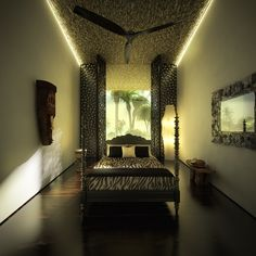 Beach Resorts, Water Features, Exterior Design, Building A House, Minimalism, Bedroom, Architecture, Luxury, Interior