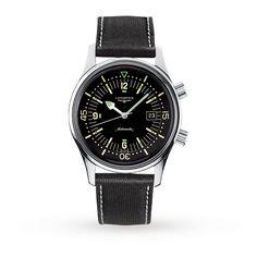 Mens Watches - Longines Legend Diver Gents Watch - L3.674.4.50.0