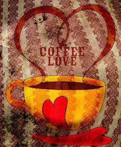 Coffee Love... What My Coffee said to me on Behance