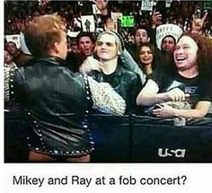 I was told by commenters this is WWE which I see now haha so no this isn't Pete my children