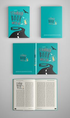free Standard Book Mock-Up