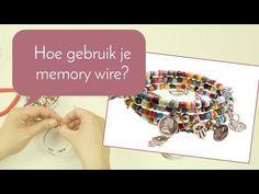 #Memory #Wire Bekijk hier hoe je een #feestelijke #wikkel #armband kunt maken