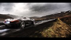 McLaren P1 - A trip to Iceland