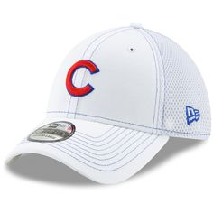 new style 57eae 2e9f4 Men s Chicago Cubs New Era White Team Neo 39THIRTY Flex Hat, Your Price    25.99