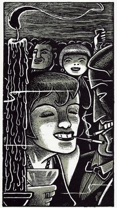 Art Spiegelman Illustration for The Wild Party, by Joseph Moncure March (1928) French edition - Flammarion 2008