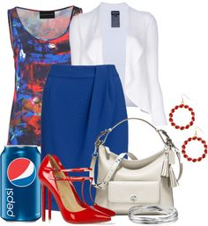 """Soda Pop Inspired"" by brendariley-1 ❤ liked on Polyvore"