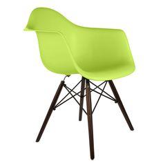 eModern Decor Scandinavian Arm Chair
