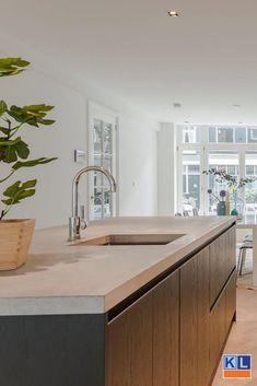 Interior Design Living Room, Living Room Designs, Living Room Decor, Modern Kitchen Design, Layout, Kitchen Decor, New Homes, House Design, House Styles