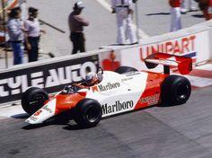 Niki Lauda, McLaren-Ford MP4-B, Long Beach, 1982