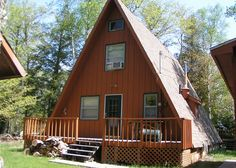 """Rustic A-frame has the relaxed """"Up-North"""" feel that you are looking for!"""