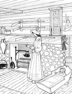 Pioneers Drawing On Pinterest Pioneer Activities