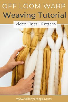 Diy Projects For Beginners, Diy Art Projects, Weaving Projects, Budget Crafts, Diy Crafts To Sell, Homemade Crafts, Diy Outdoor Weddings, Diy Wedding On A Budget, Paper Succulents