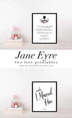 Free Jane Eyre Printables