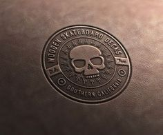 How to Create a Leather Stamp Logo Mockup in Adobe Photoshop #logo #mockup #photoshoptutorials #freetutorials