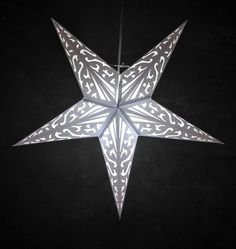Star Lanterns Atomic Althea White 24""