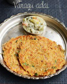 Varagu adai (Varagu arisi adai) | Kodo millet recipes | Rak's Kitchen
