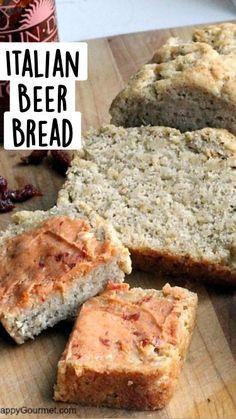 No Yeast Bread, Beer Bread, Bread Baking, Food Charts, Bread Machine Recipes, Our Daily Bread, Jewish Recipes, Quick Bread, Delish