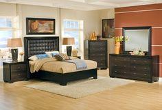 Bedroom Furniture-The Einstein Collection-Einstein Queen Bed