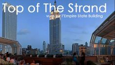 Top of The Strand : vues sur l'Empire State Building