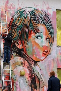 AliCe, Alice Pasquini (IT) Dortmund (DE), 2013 #street art #graffiti