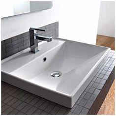 Self Rimming Bathroom Sinks , , http://www.designbabylon-interiors.com/self-rimming-bathroom-sinks/
