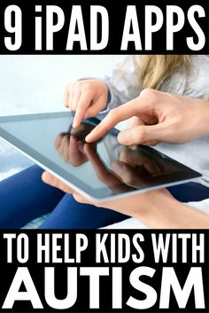 Looking for the best apps for autism? From language development apps for non-verbal kids to Social Story development tools, we& got 9 fabulous picks! Autism Apps, Autism Help, Autism Learning, Autism Education, Autism Support, Autism Sensory, Adhd And Autism, Autism Parenting, Learning Apps