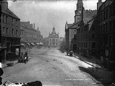 High Street.  Dundee, Scotland.