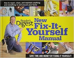 The indispensable reference guide for every homeowner, guaranteed to help you maintain and improve your home while saving time and money. Covering everything from replacing faulty faucets and showerheads to curing the quirks of an air conditioner, this book provides step-by-step illustrated instructions, plus a comprehensive chapter on tools. Includes more than 3,000 instructional photographs, illustrations, charts, and diagrams.