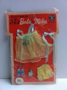 Vintage Barbie Midge PAK 'SWEET DREAMS' A BEAUTIFUL DREAMY NIGHTIE NRFB MIB MIP in Dolls & Bears | eBay