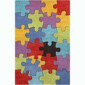 Found it at AllModern - Cinzia Jigsaw Puzzle Area Rug