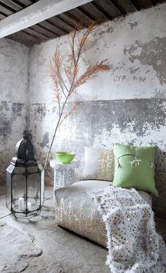 wall concrete grey