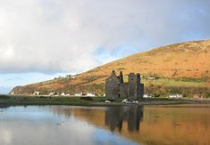 Lochranza castle - King Alexander III granted the castle and its lands to Walter Stewart, the Earl of Menteith