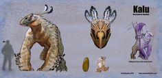 Beasts of Burden- Kalu by LivHathaway