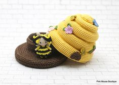 CROCHET PATTERN: Amigurumi Bee, Crochet Beehive, Amigurumi Doll, Kawaii Pattern, Amigurumi Pattern ENGLISH ONLY ************************************************************************************ This is a crochet pattern PDF - NOT the actual finished doll in the pictures!